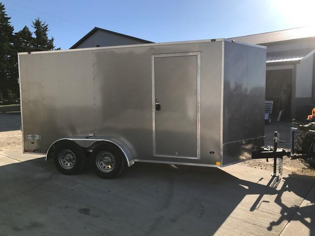 2018 Stealth Trailers 7X14 TANDEM AXLE MUSTANG Enclosed Cargo Trailer