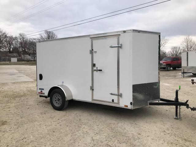 2018 Continental Cargo 6X12 VEE SERIES Enclosed Cargo Trailer