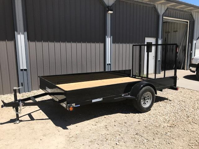 2017 Load Trail 77X12 SOLID SIDE Utility Trailer