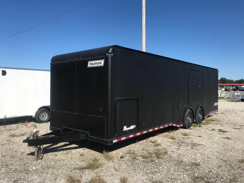 2020 Haulmark 8.5X28 HAULMARK EDGE 10K GVW 82 HEIGHT CABINETS Enclosed Cargo Trailer