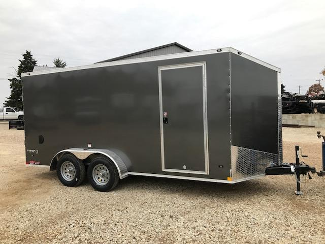2018 Stealth Trailers 7X16 TITAN SE SCREWLESS EXTERIOR Enclosed Cargo Trailer