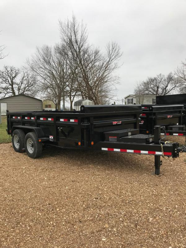 2018 Load Trail 83x14 DH HEAVY I BEAM 14K Dump Trailer