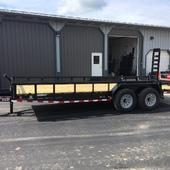 2019 Load Trail 83X20 Flatbed Trailer