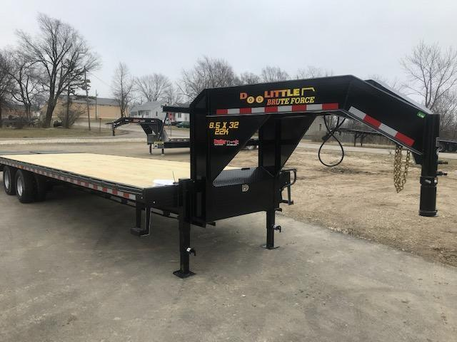 2019 Doolittle Trailer Mfg 102X32 Flatbed Trailer