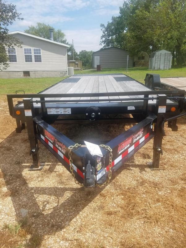 2018 Load Trail 102X24 LOAD TRIAL FULL TILT BLACK Flatbed Trailer