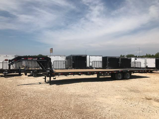 2018 Load Trail 102X34 GL 24K LOW PRO HYD DOVE Flatbed Trailer