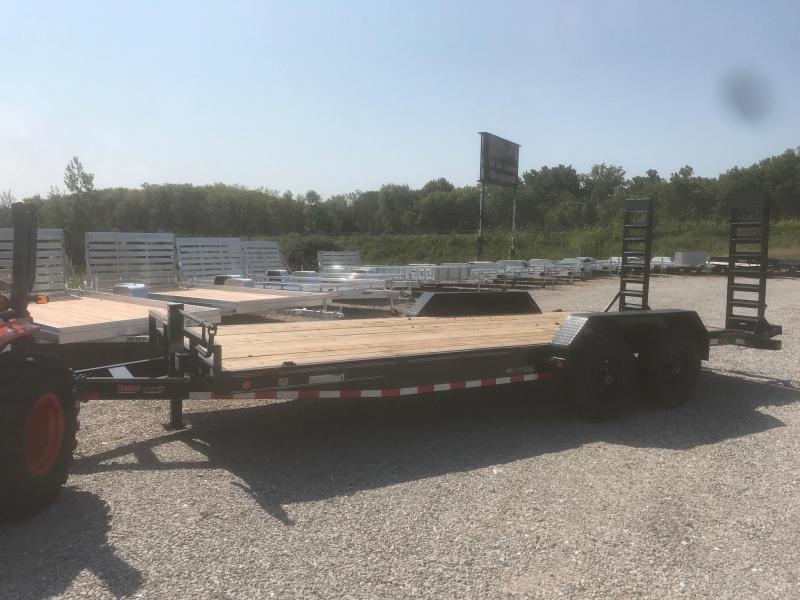 2018 Load Trail 83X20 14K CH STAND UP RAMPS Equipment Trailer