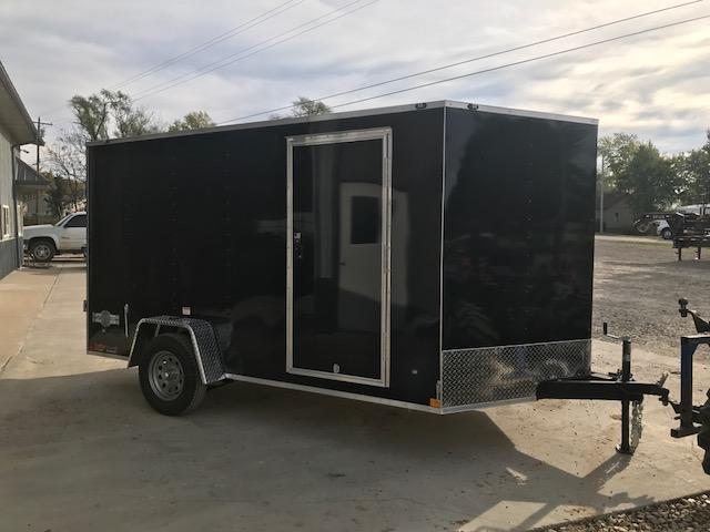 2018 Stealth Trailers 7X12 SINGLE AXLE MUSTANG Enclosed Cargo Trailer