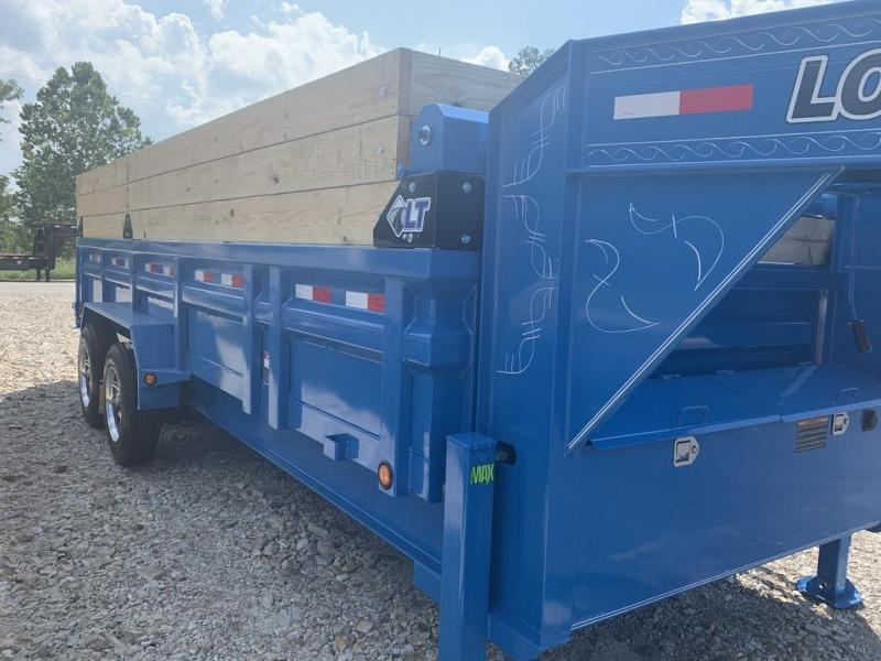 2020 Load Trail 83X20 LOADTRAIL DUMP GOOSENECK HYD JACKS BLUE Dump Trailer
