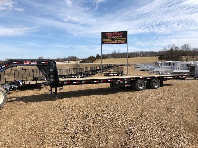 2018 Lakota Corp 102X32 LOW PRO HYD DOVE Flatbed Trailer