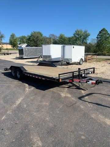 2020 Load Trail 102X22 LOADTRAIL 10K GVW 2 DOVE 7K JACK Flatbed Trailer