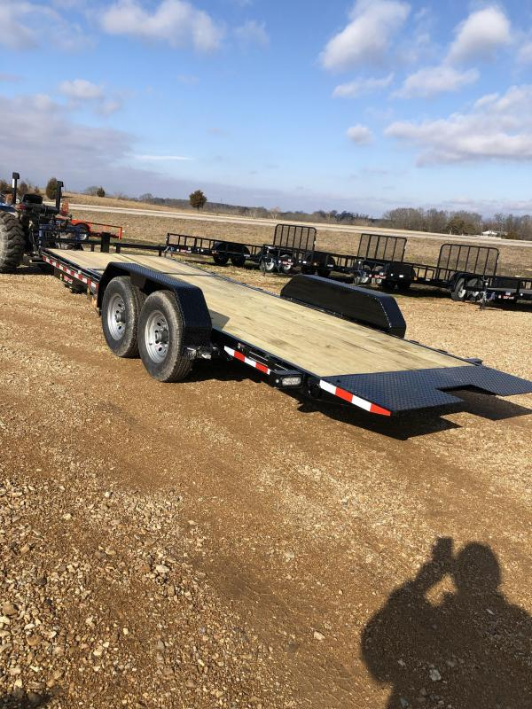 2019 Doolittle Trailer Mfg 82X22 EZ LOADER GT TILT TRAILER