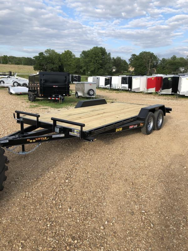 2020 Doolittle Trailer Mfg 84X18 DOOLITTLE XTREME SLIDE IN RAMPS BLACK Utility Trailer