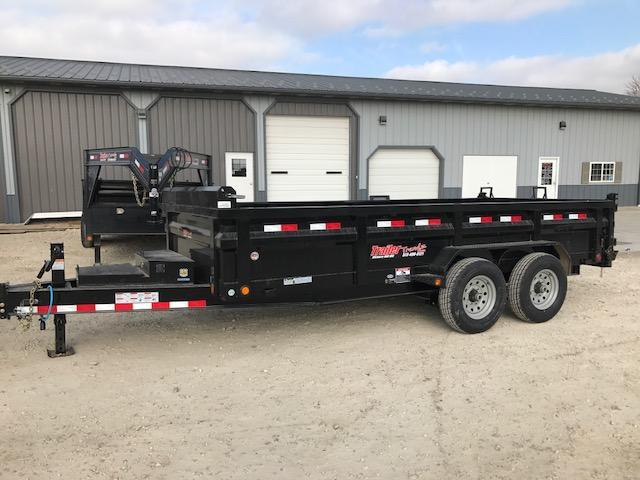 2018 Load Trail 83X16 8 I BEAM HEAVY DUTY Dump Trailer