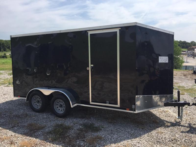 2018 Look Trailers 7X14 ST DLX RAMP DOOR Enclosed Cargo Trailer