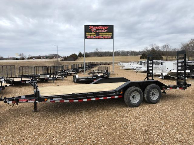 2018 Load Trail 102X20 14K STAND UP RAMPS Equipment Trailer