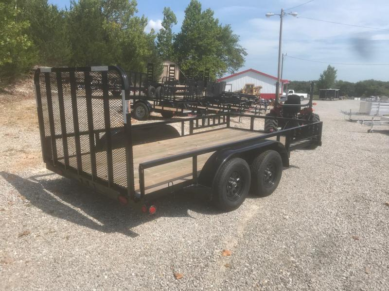 2018 Load Trail 83X14 UE TANDEM AXLE Utility Trailer