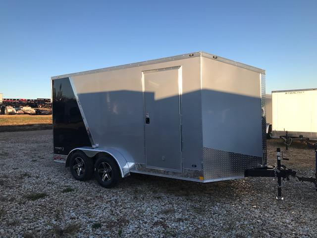2018 Stealth Trailers 7X14 TITAN SCREWLESS TWO TONE Enclosed Cargo Trailer