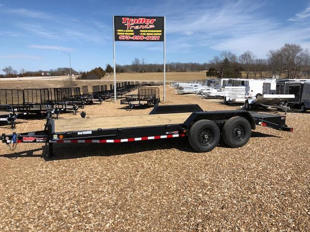 2018 Load Trail 83X20 14K MAX RAMPS Equipment Trailer