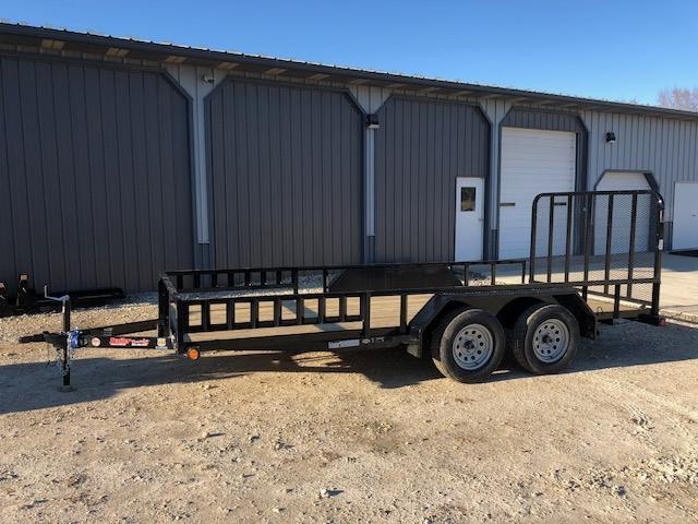 2018 Load Trail 83x16 UE 7K TANDEM AXLE Utility Trailer