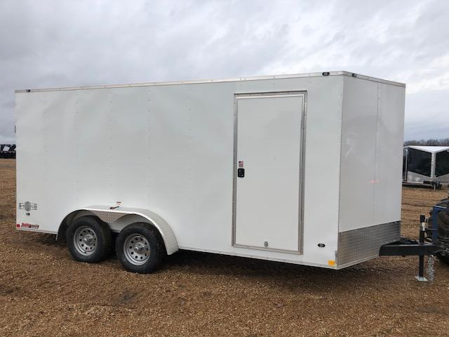 2018 Stealth Trailers 7X16 MUSTANG TANDEM AXLE Enclosed Cargo Trailer