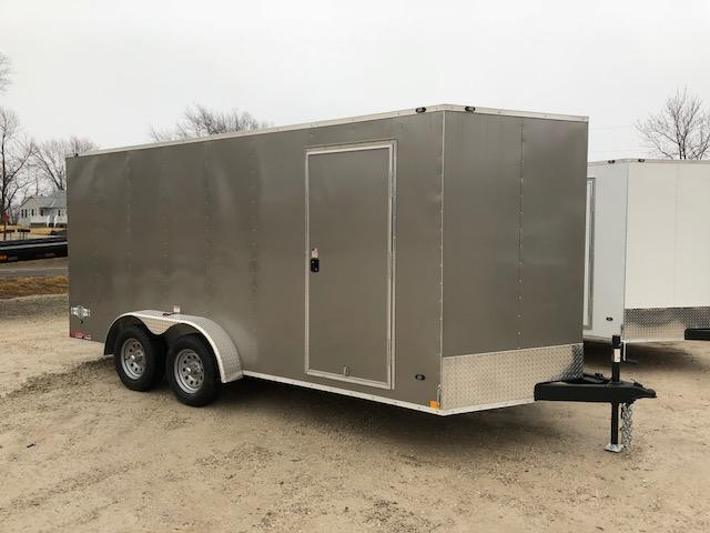 7X16 STEALTH MUSTANG SIDE/RAMP DOOR 6FT 6 TALL PEWTER