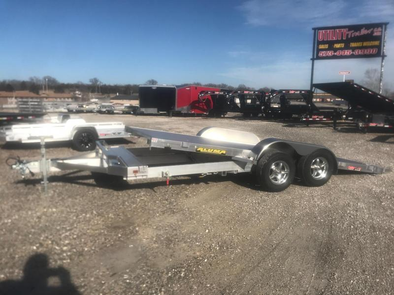 2020 Aluma 8216 TILT Car / Racing Trailer
