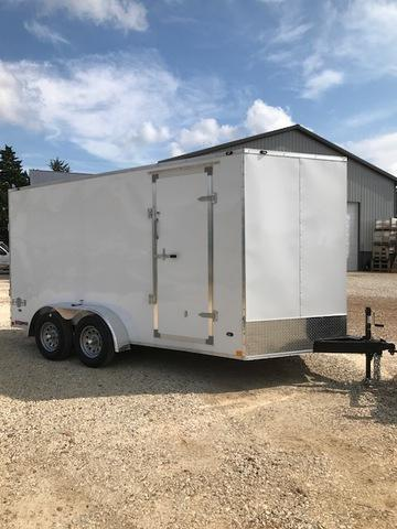 2018 Stealth Trailers 7 X 14 Tandem Enclosed Cargo Trailer 6
