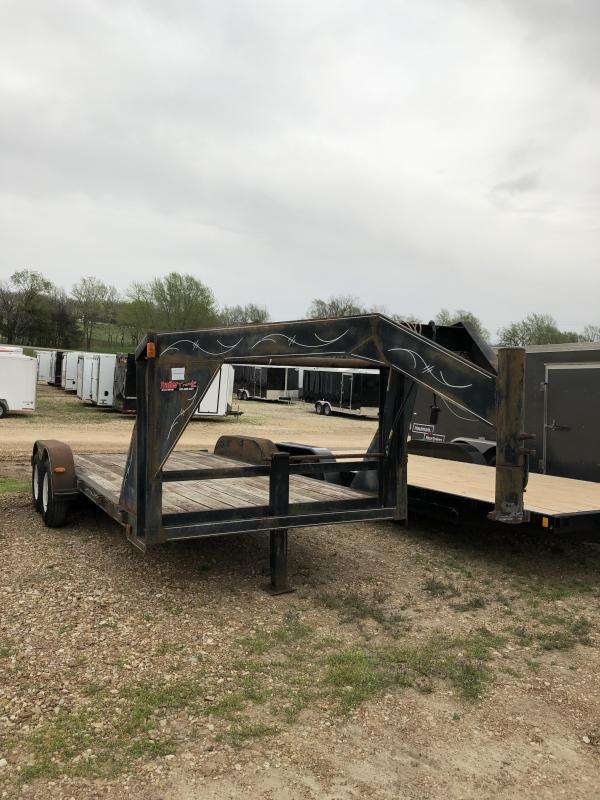 1991 Other GOOSENECK Flatbed Trailer
