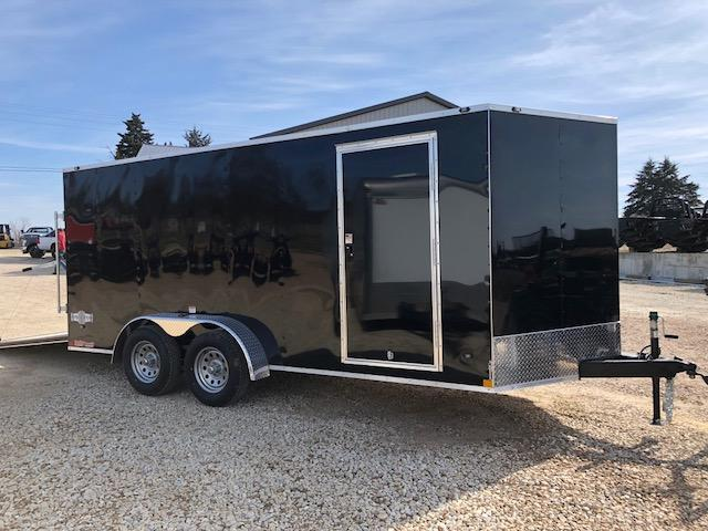 7X16 STEALTH MUSTANG SIDE/RAMP DOOR 6FT TALL BLACK