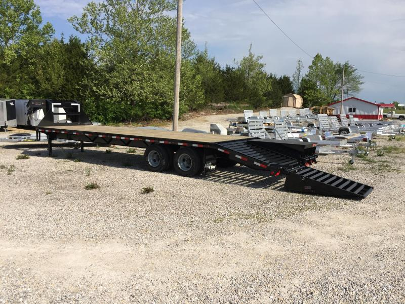 2017 Load Trail GH 102X30 TANDEM DECKOVER Flatbed Trailer