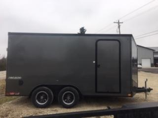 2019 Impact Trailers 7x14 Impact Tremor Enclosed Cargo Trailer