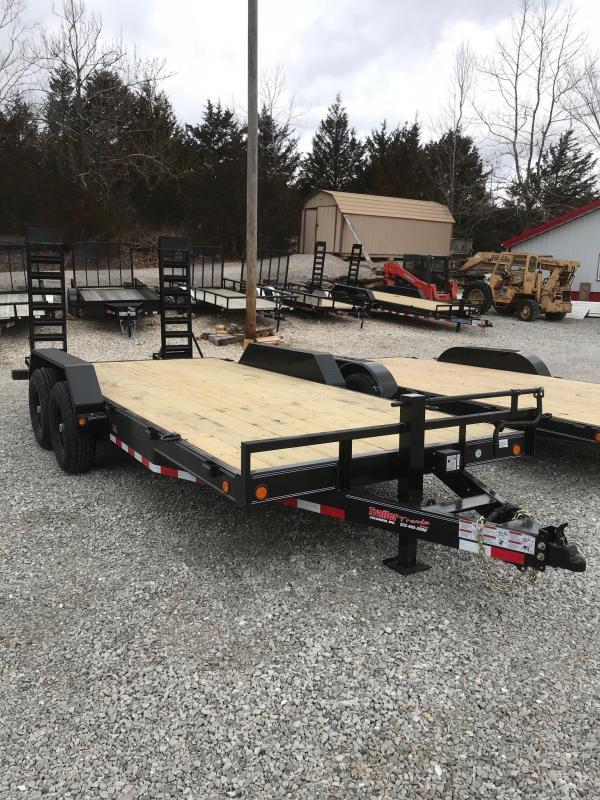 2018 Load Trail 83X18 14K Equipment Trailer