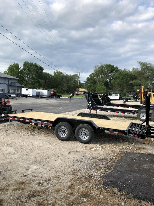 2020 Doolittle Trailer Mfg 82X20 DOOLITTLE XTREME FLIP UP RAMPS Car / Racing Trailer