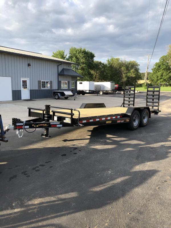 2020 DooLitttle Trailers 82X20 DOOLITTLE XTREME FLIP UP RAMPS Car / Racing Trailer