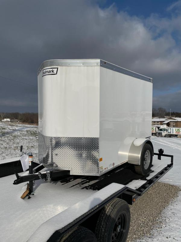 2020 Haulmark 5X8 SINGLE REAR DOOR Enclosed Cargo Trailer