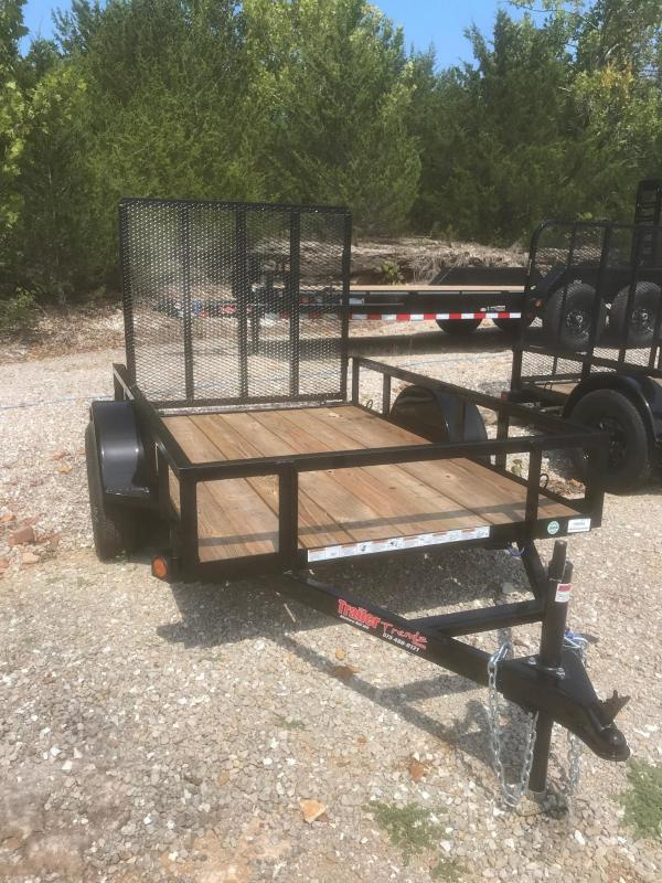 2018 Load Trail 5X8 UE SINGLE AXLE Utility Trailer