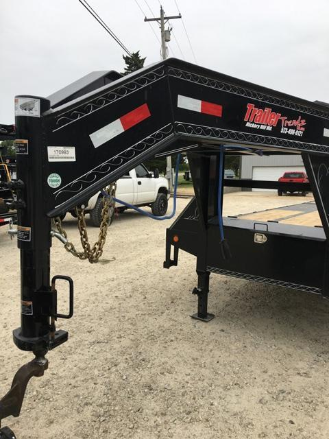 2018 Load Trail 102x28 LOW PRO GOOSENECK Flatbed Trailer