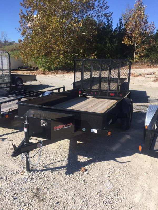 2017 Load Trail 66X10 SOLID SIDE Utility Trailer