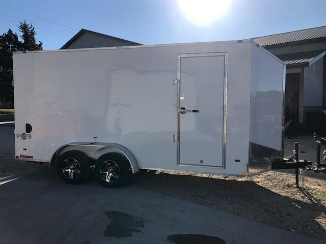 2018 Stealth Trailers 7X16 MUSTANG 7K 7 INTERIOR HT ALUMINUM WHEELS Enclosed Cargo Trailer