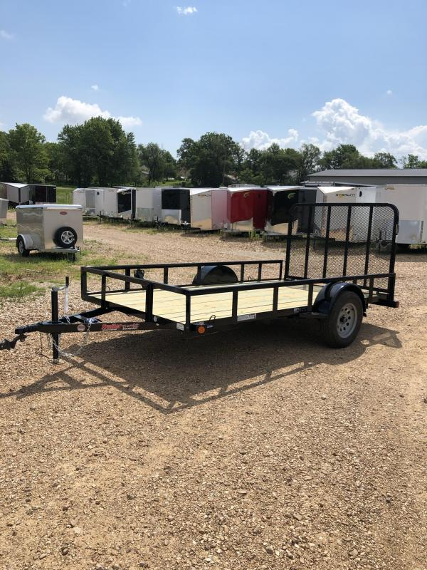 2019 Load Trail 77X12 LOADTRAIL FOLD IN TUBE GATE BLACK Utility Trailer