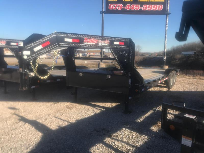 "2019 Load Trail 102"" X 26' Tandem Gooseneck Carhauler Car / Racing Trailer"