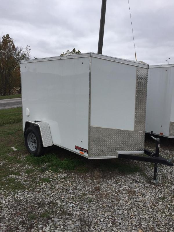 2018 Pace American 5X8 JOURNEY SE Enclosed Cargo Trailer