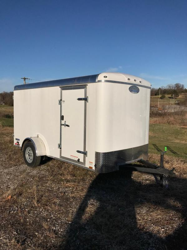 2018 Continental Cargo 6X12 TAILWIND ROUNT TOP Enclosed Cargo Trailer