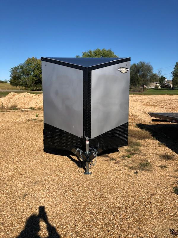 2019 Impact Trailers 7X14 TREMOR Enclosed Cargo Trailer