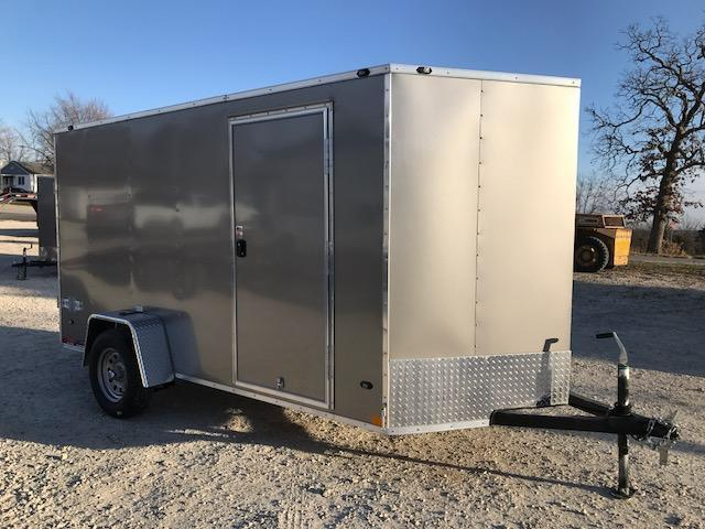 2018 Stealth Trailers 6X12 MUSTANG PEWTER Enclosed Cargo Trailer