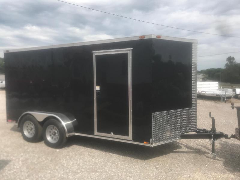 2019 Triple R 7x14 Enclosed Cargo Trailer