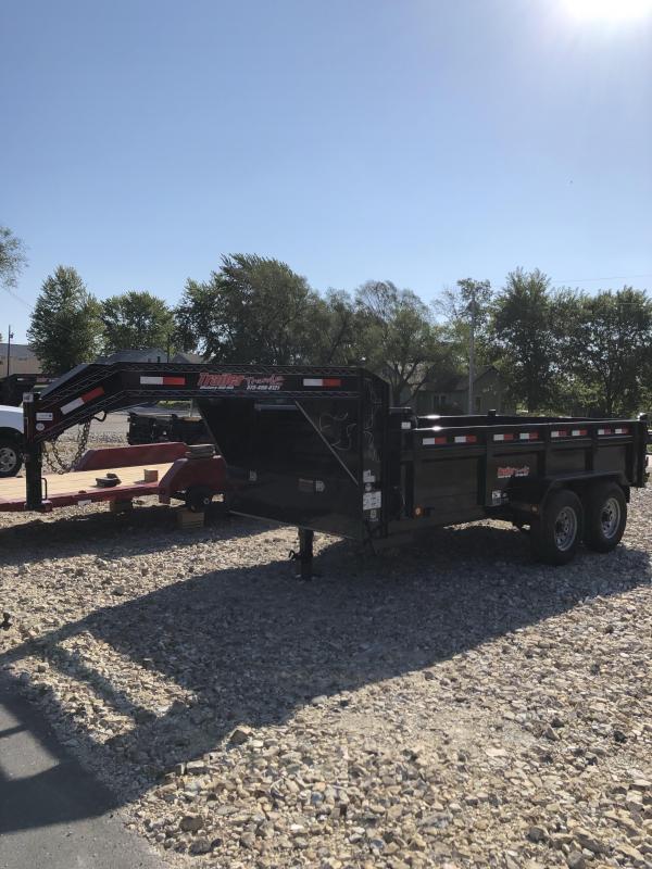 2020 Load Trail 83X14 LOADTRAIL GOOSENECK DUMP SLIDE IN RAMPS Dump Trailer