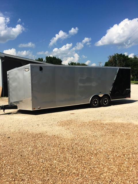 2019 Impact Trailers 8.5 X 24 Enclosed Cargo Trailer