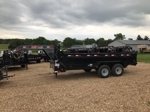 2018 Load Trail 83X16 GOOSENECK SD HEIGHT Dump Trailer